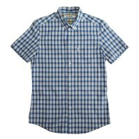 30%OFF 【FROM UK】BEN SHERMAN SLIM FIT  S/S CHECK SHIRT/S(UK)