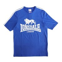 30%OFF 【FROM UK】LONSDALE T-SHIRTS BLUE S(UK)