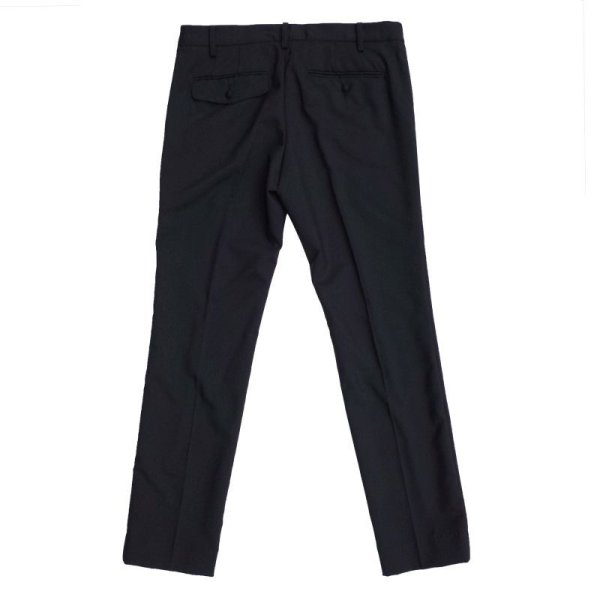 画像2:  【new price】 STRETCH SLIM TROUSERS  BLACK