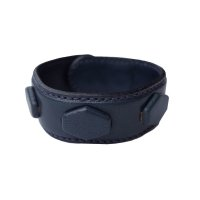 COVERED HEXAGON WRISTBAND  NAVY