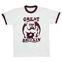 T-BULLDOG  NATURAL-BURGUNDY