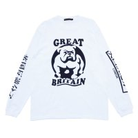 BULLDOG L/S  WHITE