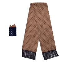 HONEYCOMB SCARF & POCKET CHIEF