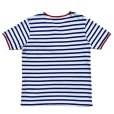 画像2: STRIPED HENLEY NECH SHIRTS <br>WHITE-BLUE (2)