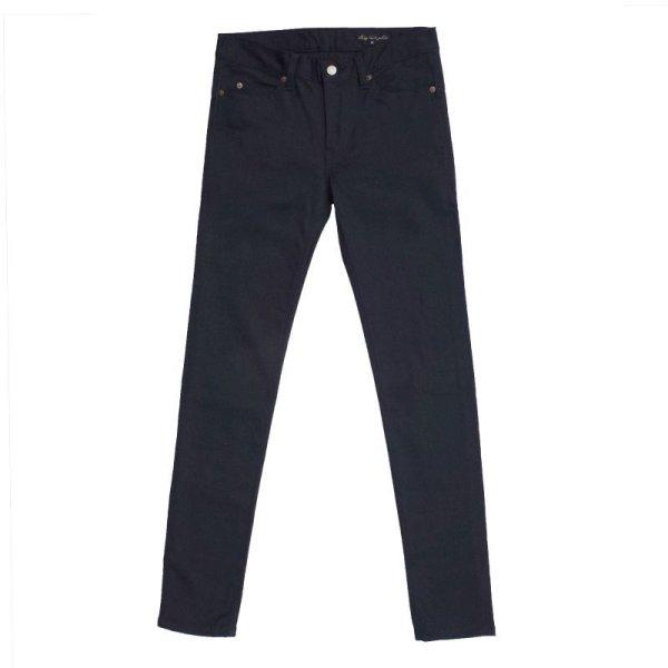 画像1: SKINNY PANTS  BLACK