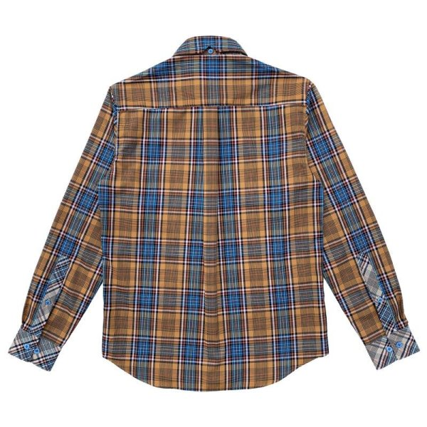 画像2: TARTAN SHIRTS  ORANGE