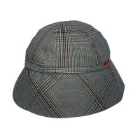 CASUAL HAT  CHECK GREY