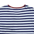 画像5: STRIPED HENLEY NECH SHIRTS <br>WHITE-BLUE (5)