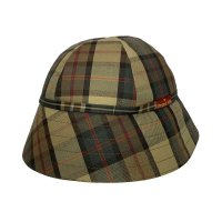 CASUAL HAT  CHECK BEIGE