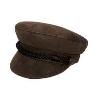 LIVERPOOL HAT  SUEDE BROWN