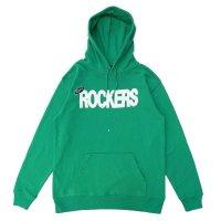 ROCKERS HOODIE  GREEN