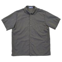 【Our Favourite Shop】SHORT SLEEVE PETERPAN SHIRTS  OLIVE